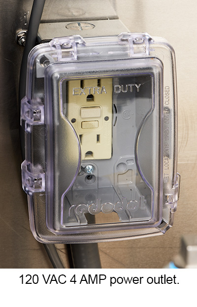 WMP power outlet